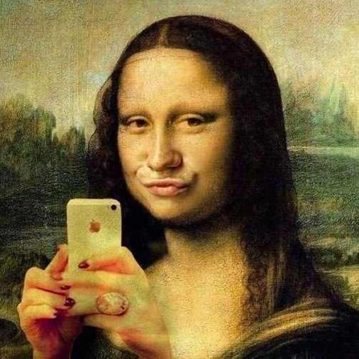 selfieMONALISA